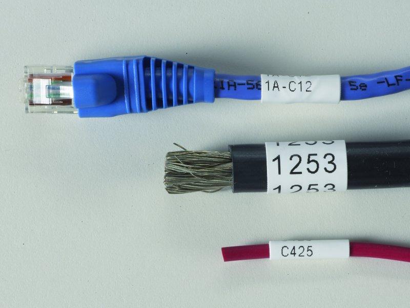 Etiketten für die Draht- und Kabelkennzeichnung - Leymann Punktum