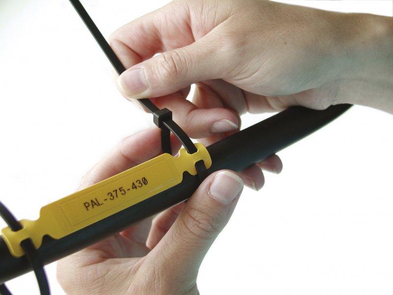 Laminat-Halter für die Kabelmarkierung - Leymann Punktum