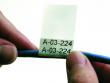 7: Selbstlaminierendes Vinyletikette zur Draht- und Kabelkennzeichnung (Anwendungsschritt 1)