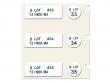 4: Etiketten für Röhchen und Deckel (Laborkennzeichnung)
