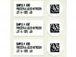 3: Etiketten für Röhchen und Deckel (Laborkennzeichnung)