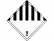 21: Gefahrgutschild Klasse 9 - Verschiedene gefährliche Stoffe und Gegenstände