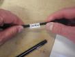 6: Wickeletikett für die Draht- und Kabelkennzeichnung