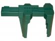 7: Kugelhahn-Absperrung (grün)