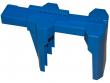 8: Kugelhahn-Absperrung (blau)