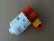 1: Universal-Absperrvorrichtung für Stecker (Anwendungsbeispiel)