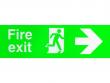 12: Fluchtwegkennzeichnung (gedruckt mit dem MiniMark)