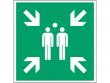 7: Sammelstelle (Rettungsschild / Erste-Hilfe-Schild gemäß DIN EN ISO 7010, ASR A1.3)