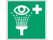 11: Augenspüleinrichtung (Rettungsschild / Erste-Hilfe-Schild gemäß ISO 7010, ASR A1.3)