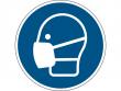 16: Gebotsschild - Maske benutzen (gemäß DIN EN ISO 7010, ASR A1.3)