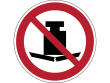 11: Verbotsschild - Keine schwere Last (gemäß DIN EN ISO 7010, ASR A1.3)