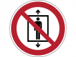 25: Verbotsschild - Personenbeförderung verboten (gemäß DIN EN ISO 7010, ASR A1.3)