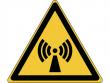 5: Warnschild - Warnung vor nicht ionisierender Strahlung (gemäß DIN EN ISO 7010, ASR A1.3)