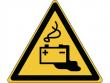 26: Warnschild - Warnung vor Gefahren durch das Aufladen von Batterien (gemäß DIN EN ISO 7010, ASR A1.3)