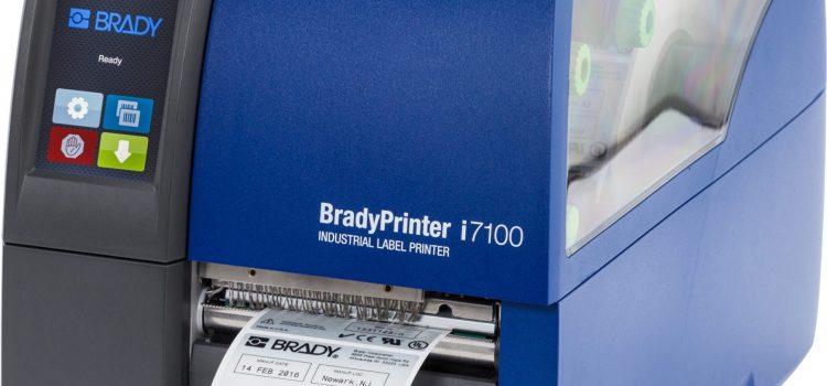 Der neue Thermotransferdrucker von BRADY – i7100