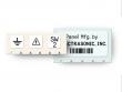 1: Polyester Etiketten für pulverbeschichtete Oberflächen (B-483)