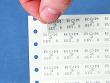2: B-502 - wiederablösbare Vinylgewebe-Etiketten