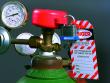1: Gaszylinder-Verriegelung