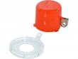 4: Sicherheitsabdeckung für Drucktasten und Notausschalter (groß)