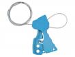 4: Original-Kabelverriegelung (blau)