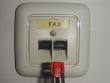6: RJ45-Buchsenmodulblockierungseinheit für Fax-Buchsen