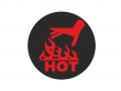 3: Reversible Hitze-Indikator Etiketten (Etiketten-Durchmesser: 37 mm)