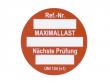 8: Unitag Einsteckschild - Nächste Prüfung, rot (806797)
