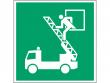 16: Rettungsausstieg (Rettungsschild / Erste-Hilfe-Schild gemäß ISO 7010, ASR A1.3)