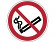 2: Verbotsschild - Rauchen verboten (gemäß DIN EN ISO 7010, ASR A1.3)